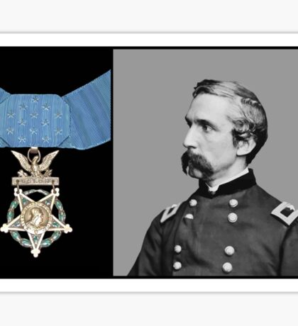J.L. Chamberlain And The Medal Of Honor Sticker