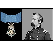 J.L. Chamberlain And The Medal Of Honor Photographic Print