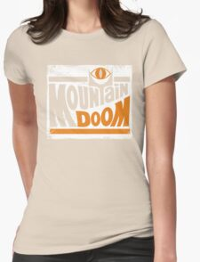 Mountain Doom Womens Fitted T-Shirt
