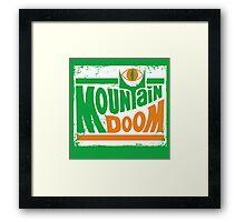 Mountain Doom Framed Print