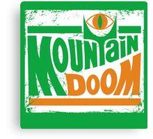 Mountain Doom Canvas Print