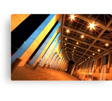 Curved Canvas Print