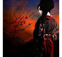 Geisha with Quince - resubmit Photographic Print