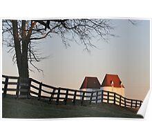 Pennsylvania Farm Poster