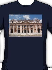 St Peters Basilica, the Vatican T-Shirt