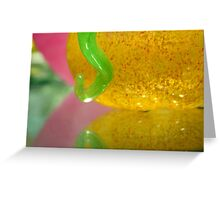 Glass on Mirror Greeting Card