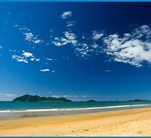 Sunny day,Dunk Island view. by Susan Kelly