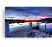 Empty Boardwalk Canvas Print
