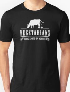 FUNNY VEGETARIAN JOKE T-Shirt