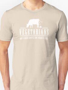 FUNNY VEGETARIAN JOKE Unisex T-Shirt