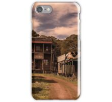 The Old Ghost Town iPhone Case/Skin