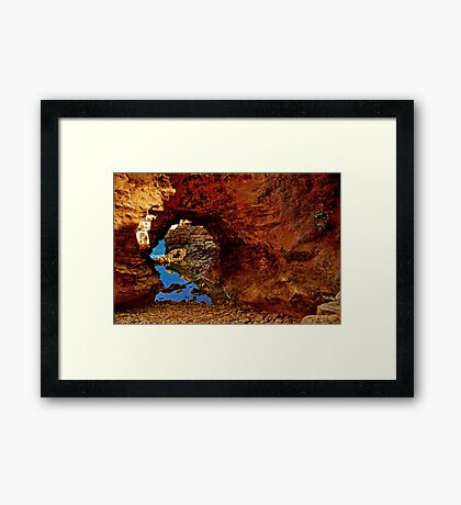 """The Grotto"" Framed Print"