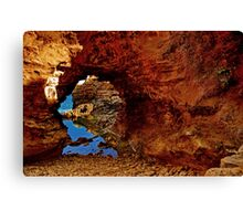 """The Grotto"" Canvas Print"
