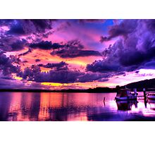 Immense Sunset Photographic Print