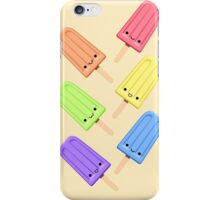 Rainbow Popsicles iPhone Case/Skin