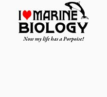 I Love Marine Biology Womens Fitted T-Shirt