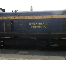Steamrail Victoria Carriage by judygal