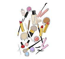 Makeup Photographic Print