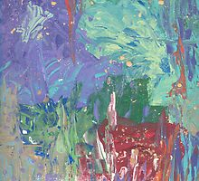 Garden Abstract 2 by Helene Henderson