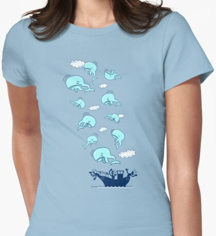 Where Have the Whales Gone? Womens Fitted T-Shirt