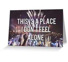 ONE DIRECTION OTRA  Greeting Card