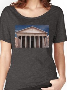 The Pantheon Rome Italy Women's Relaxed Fit T-Shirt