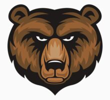 Bear Mascot Head by Fitzillo