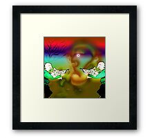 Woodland bop new version. Framed Print