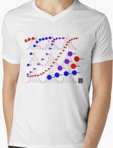 """Binomial Poisson Cumulative""© Mens V-Neck T-Shirt"