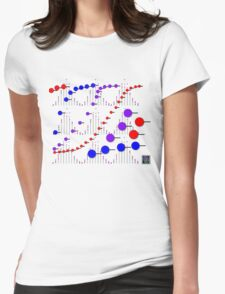 """Binomial Poisson Cumulative""© Womens Fitted T-Shirt"