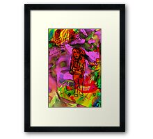 Day Tripper colour version. Framed Print