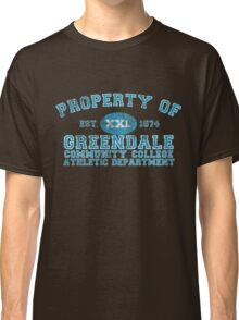 Greendale Community College Athletic Department Classic T-Shirt