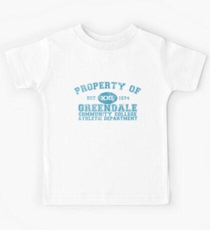 Greendale Community College Athletic Department Kids Tee