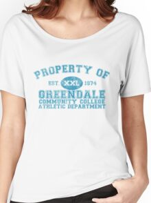 Greendale Community College Athletic Department Women's Relaxed Fit T-Shirt