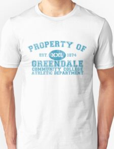 Greendale Community College Athletic Department Unisex T-Shirt