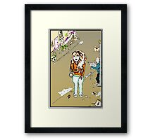 Day Tripper Painted colour version. Framed Print