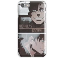 Nicholas Brown - Gangsta iPhone Case/Skin