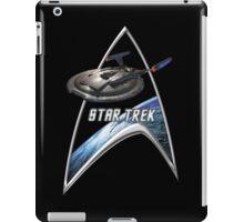 StarTrek Command Silver Signia Enterprise NX01 2 iPad Case/Skin