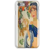 Goddess of the Autumn iPhone Case/Skin