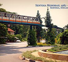 Sentosa Classic Collection: Monorail near Golf Course by JoAndCoCards