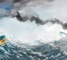 Precarious  by Mario Donk