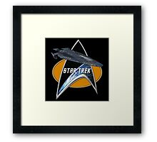 StarTrek Cerberus Command Signia Chest Framed Print