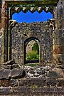 Through the arched window by inkedsandra