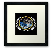 Star trek Federation of Planets Enterprise NX01 Framed Print