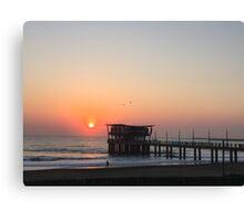 Durban Beachfront Canvas Print