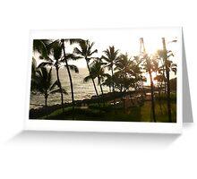 Hawaiian Sun Shower Greeting Card