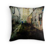 Laneway Grunge Throw Pillow
