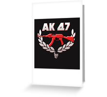 ak47 Greeting Card