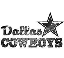Stadium - Cowboy Photographic Print