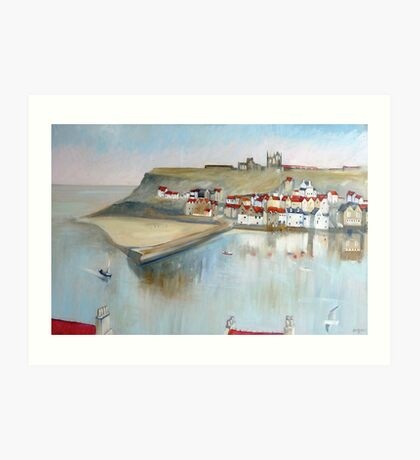 Patterns of Whitby Art Print